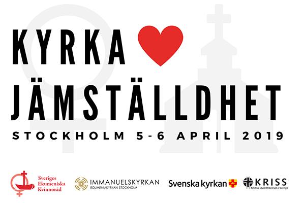 Årskonferens 2019 – Kyrka <3 Jämställdhet