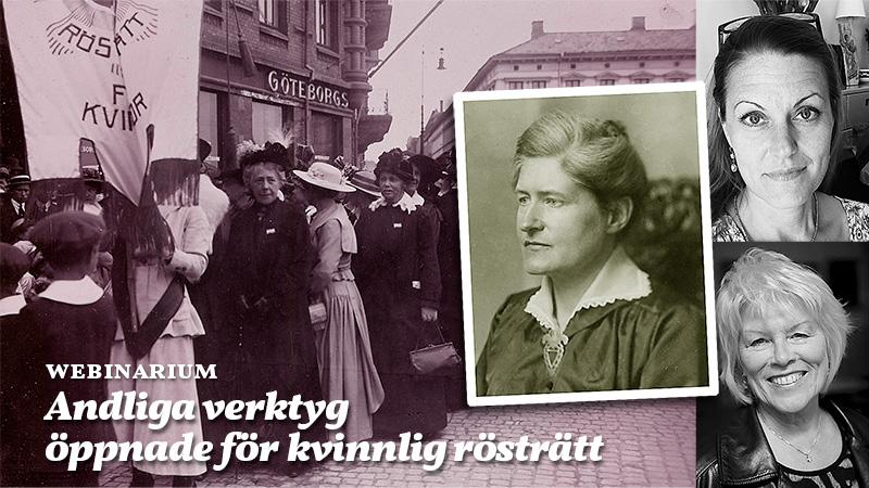 """Webinarium """"Andliga verktyg öppnade för kvinnlig rösträtt"""""""